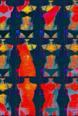 Dress-Stand 02 -Acrylglasbild