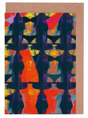 Dress-Stand 02 -Grußkarten-Set