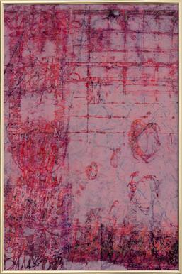 Fraying -Poster im Alurahmen