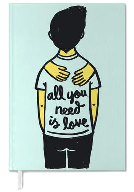 All You Need Is Love (Colour) Personal Planner