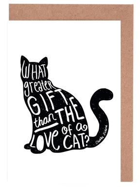Dickens' Cat Greeting Card Set