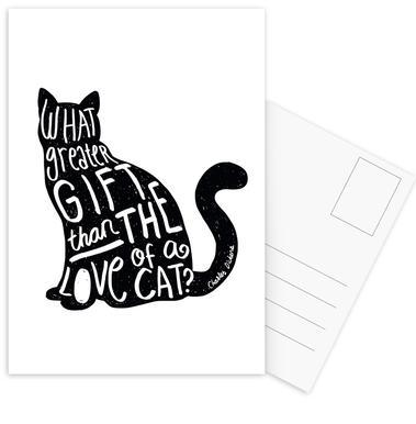 Dickens' Cat Postcard Set