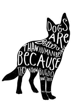 Dickinson's Dog Acrylic Print