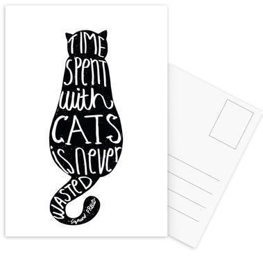 Freud's Cat cartes postales