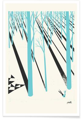 Forest 1b - Premium Poster