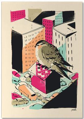 Giants Birdy -Notizblock