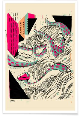 Giants Pulpo Poster