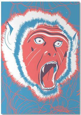 Monkey -Notizblock