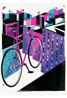 Bicycle -Alubild