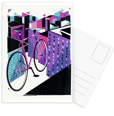 Bicycle -Postkartenset