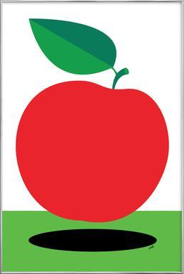 Apple 1 Plakat i aluminiumsramme