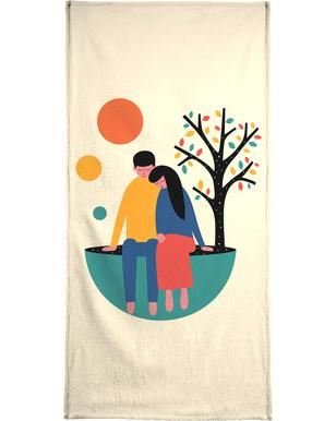 Always and Forever Bath Towel