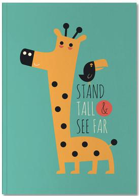 Stand Tall and See Far Notebook