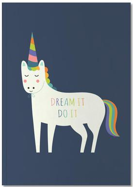 Dream It Do It Notebook