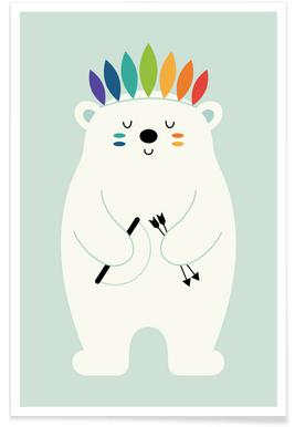 Be Brave Polar affiche