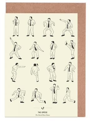The Office - David Brent Greeting Card Set
