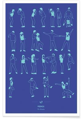 Friends Dance Poster