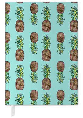 Golden Pineapple Personal Planner