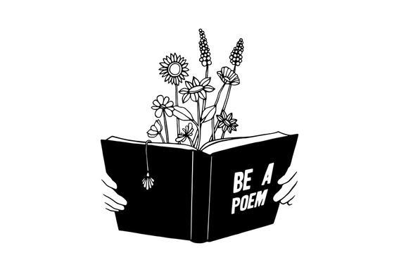 Be a Poem Aluminium Print