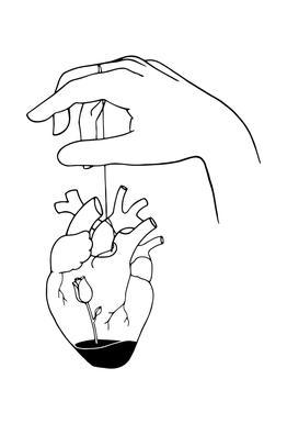 How Can You Mend a Broken Heart alu dibond