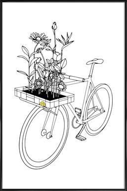 Wherever Flowers Go ingelijste poster