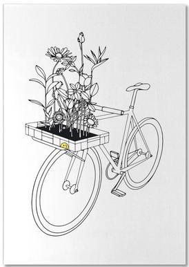 Wherever Flowers Go Notepad