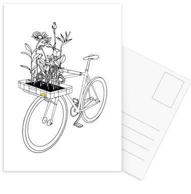 Wherever Flowers Go Postcard Set