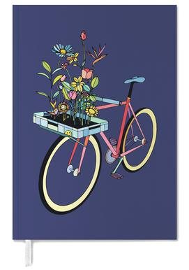 Bike and Flowers Personal Planner