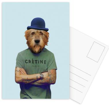 Mr Who -Postkartenset