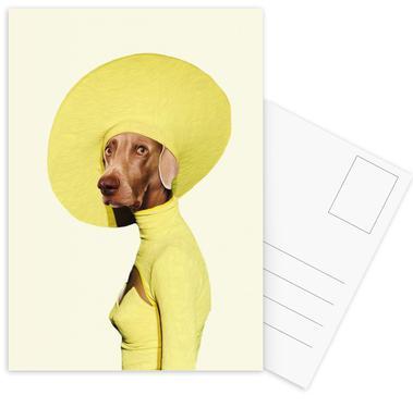 Mrs Submarine Postcard Set