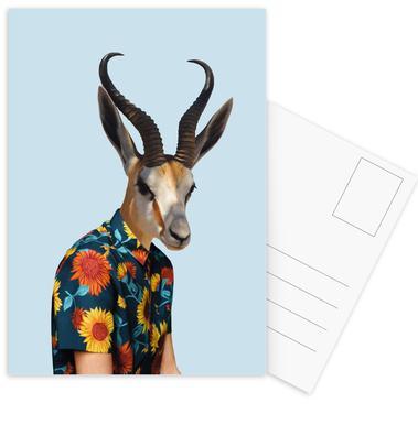 Monsieur Tournesol Postcard Set