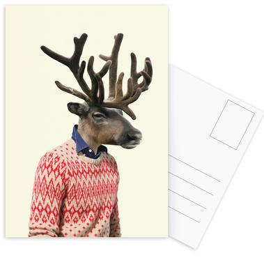 Monsieur L'équilibriste Postcard Set