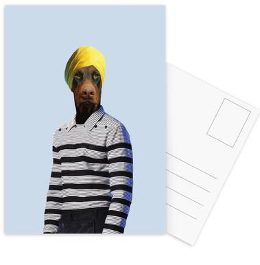 Mr Rasaraj Postcard Set