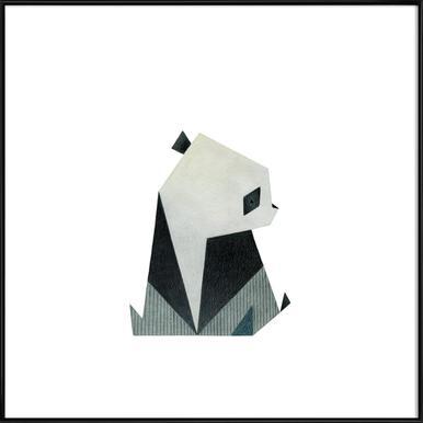 Panda 2 - Affiche sous cadre standard