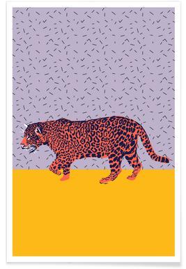 Big Cat Ice Cream - Poster