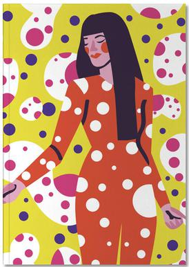 Kusama Print Notebook