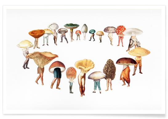 Spring Fairy Ring Poster