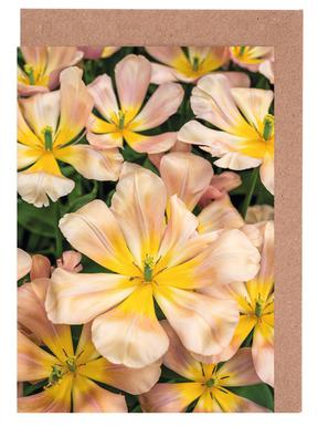 Golden Tulips Greeting Card Set