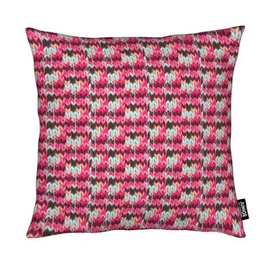 Pink Knit coussin