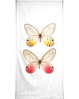 Butterfly 4 -Handtuch