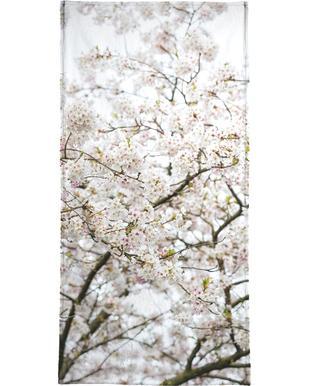 Blossom White 1 -Strandtuch