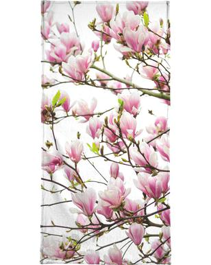 Magnolia Pink 1 -Strandtuch