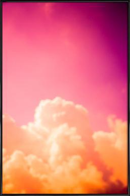 Clouds III - Poster im Kunststoffrahmen