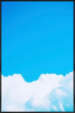 Blue Clouds I Framed Poster
