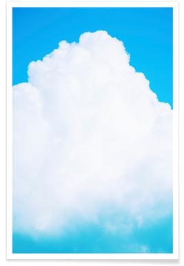 Blue Clouds III - Premium poster