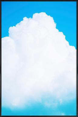 Blue Clouds III affiche encadrée