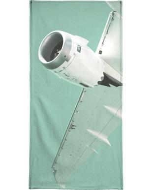 Overhead X Beach Towel