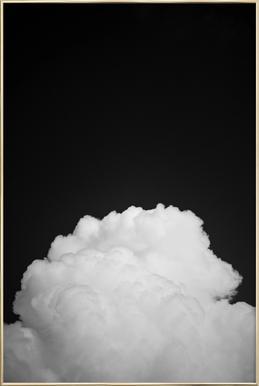 Black Clouds II affiche sous cadre en aluminium