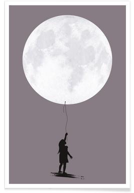 Moonballoon Poster