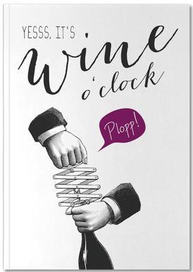 Wine o'clock Notebook
